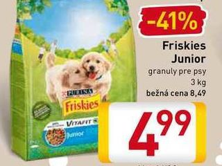Friskies junior 3 kg
