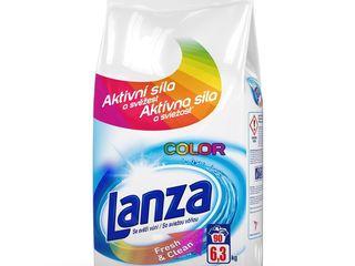 Lanza Fresh&Clean Color prací prášok 90 praní 1x6,3 kg