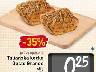Talianska kocka Gusto Grande 65 g