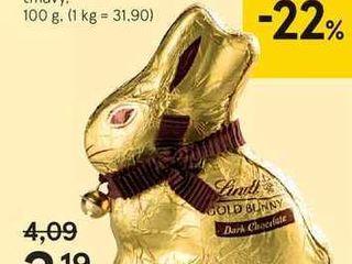 Obrázok Lindt zajac, 100 g