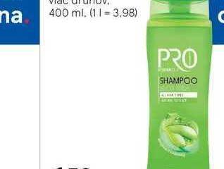 Obrázok Pro Formula šampón na vlasy, 400 ml