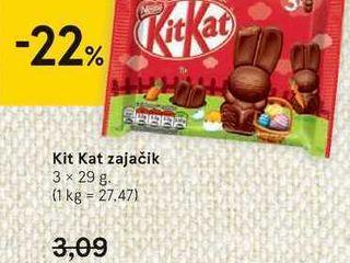 Obrázok Kit Kat zajačik, 3 x 29 g