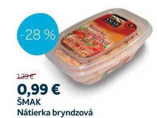 ŠMAK Nátierka bryndzová, 130 g