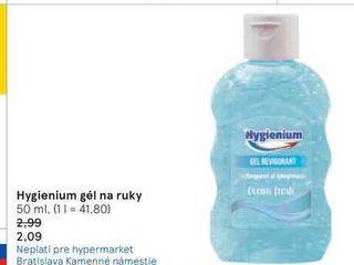 Hygienium gél na ruky, 50 ml