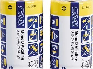Obrázok CMI Alkalická batéria Mono D sada, 2 ks