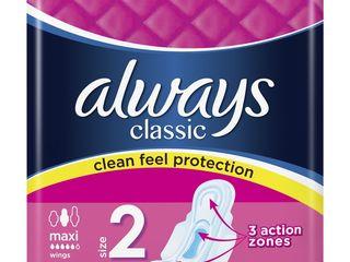 Obrázok Always classic maxi dámske vložky 1x9 ks