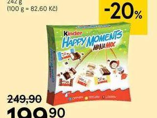 obrázek Kinder Happy Moments, 242 g