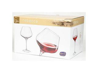 Pohár na víno Rebecca 590ml Bohemia Crystal 6ks